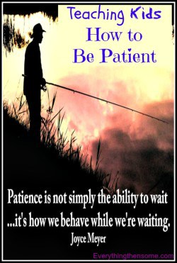 Teaching Kids How to Be Patient