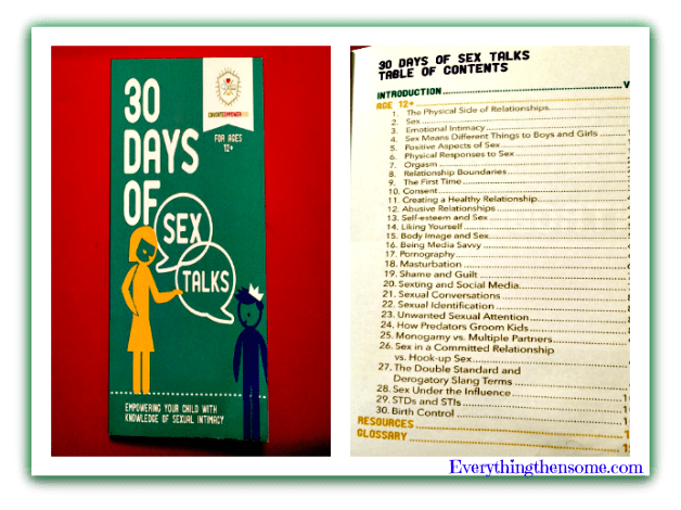 30 Days Of Sex Talks Book Review