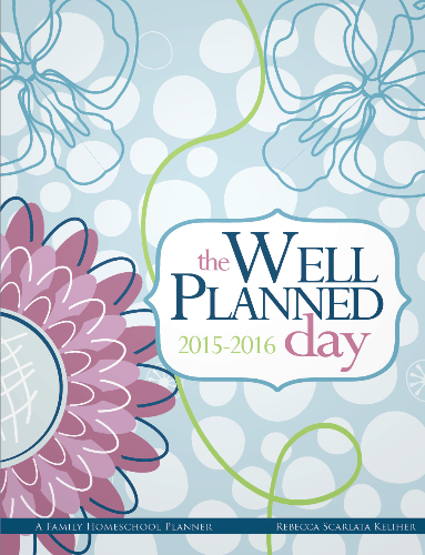 Well Planned Day Homeschool Planner Giveaway