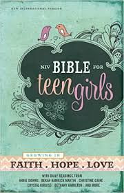 NIV Bible for Teen Girls: Growing In Faith.Hope.Love Review