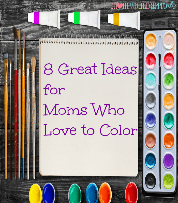 moms who love to color