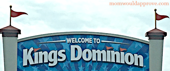 Kings Dominion Entrance