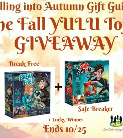 The Fall YULU Toys Giveaway Ends 1025