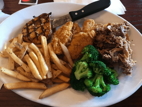 Smokey Bones BBQ Chicken