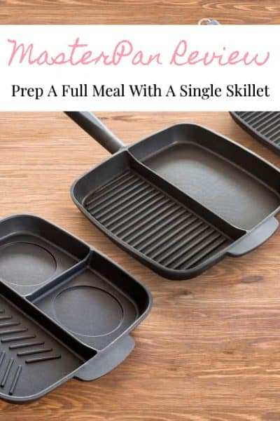 Prep A Full Meal With A Single Skillet - MasterPan Review
